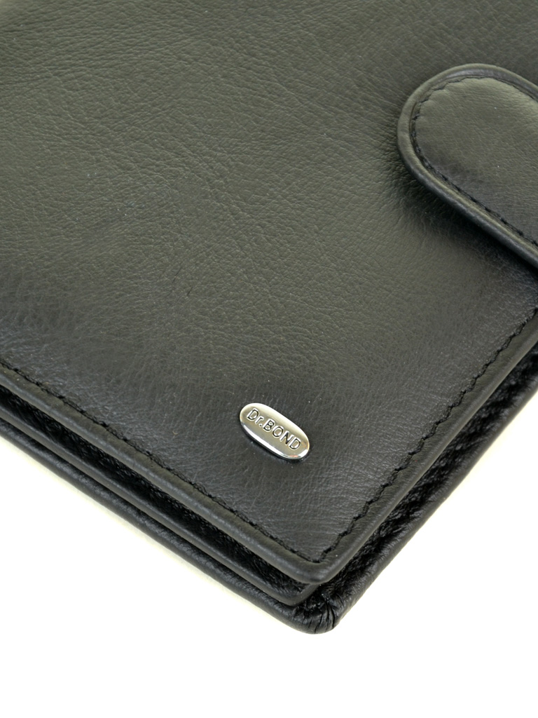 Кошелек Classik кожа DR. BOND M5 black