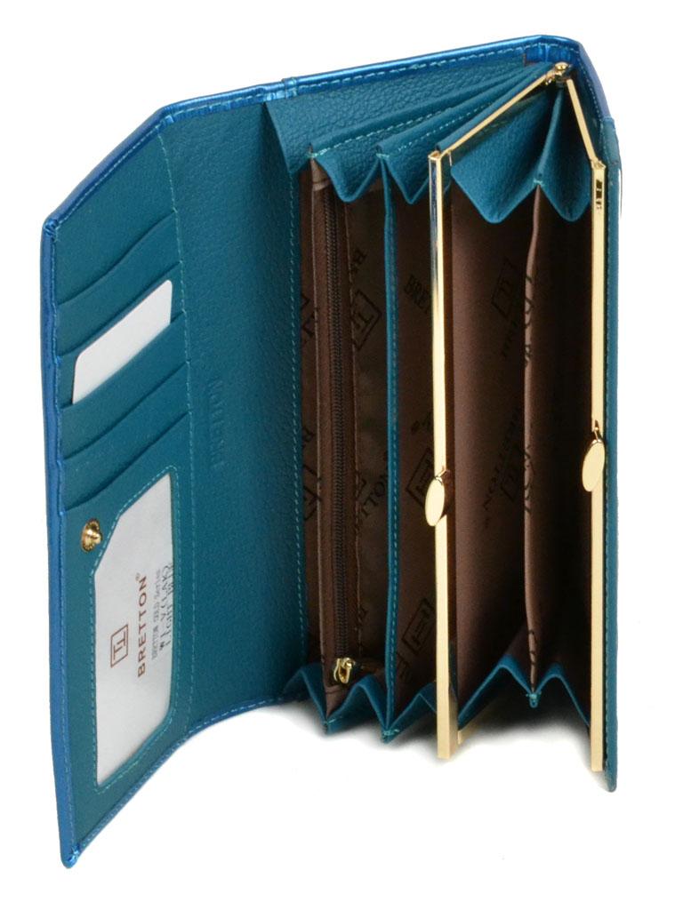 Кошелек Gold кожа Bretton W1-V l-blue