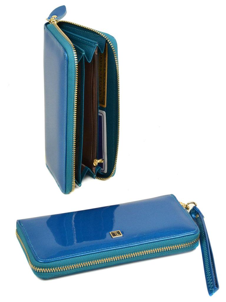 Кошелек Gold кожа Bretton W38 l-blue