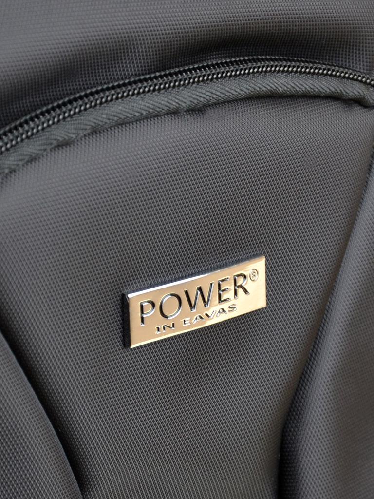 Дорожная Сумка на колесах нейлон Power In Eavas 1878-20 small black
