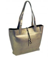 Сумка Женская Классическая кожа ALEX RAI 10-03 J002 ash-gold Распродажа