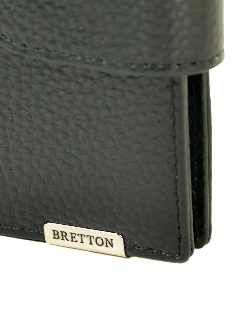 Кошелек CLASSIK. кожа BRETTON M4203 black