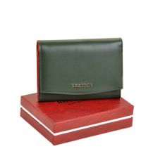 Кошелек Color женский кожаный BRETTON W5458 green Распродажа