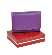 Кошелек Color женский кожаный BRETTON W5458 purple Распродажа