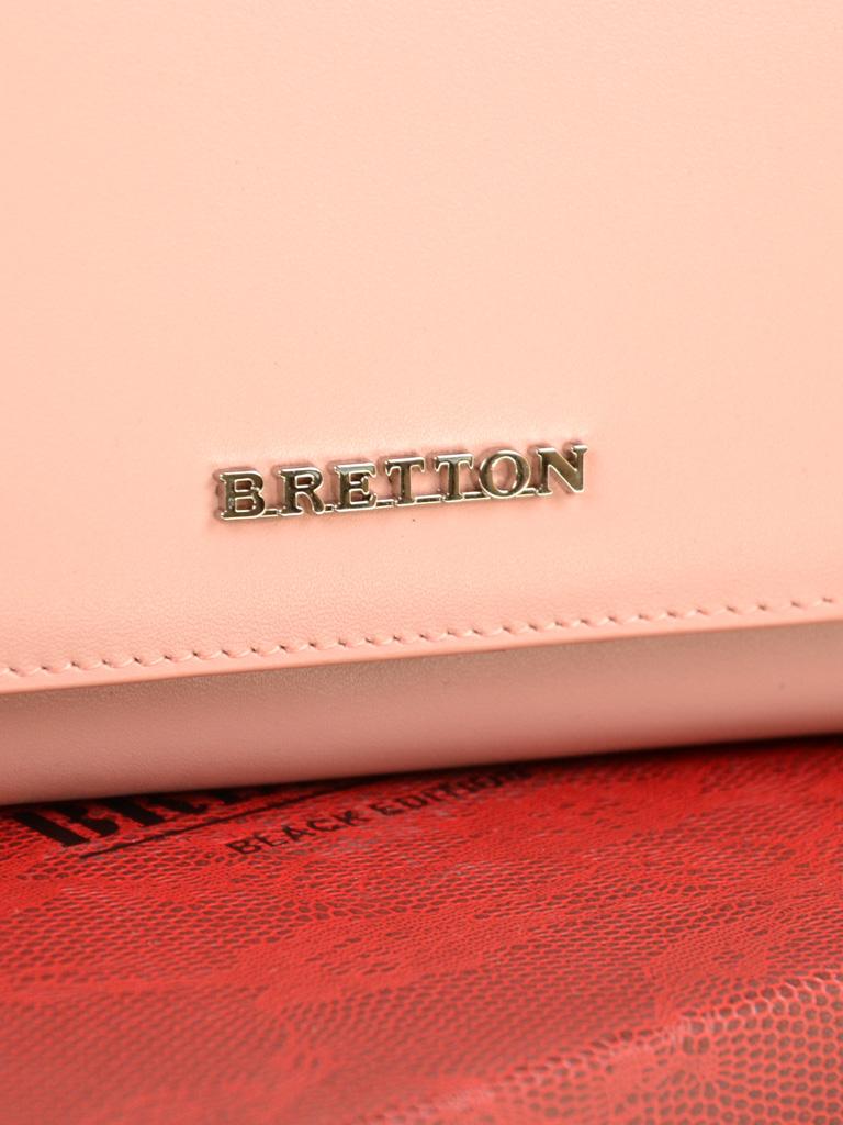 Кошелек Color женский кожаный BRETTON W7237 pink