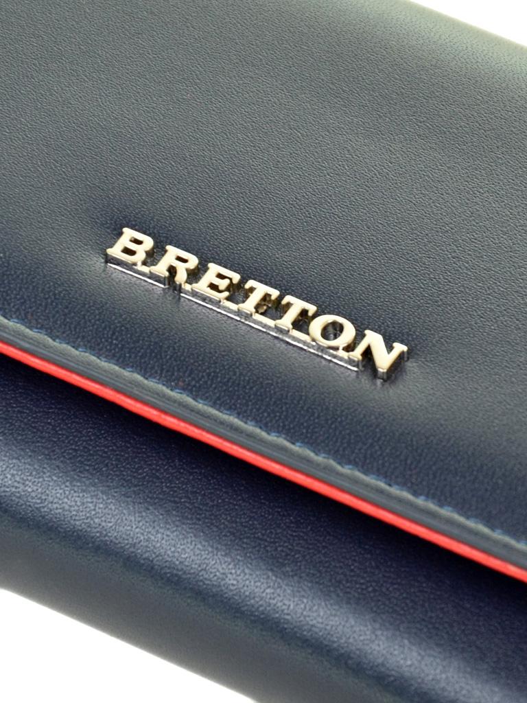 Кошелек Color женский кожаный BRETTON W5520 navi