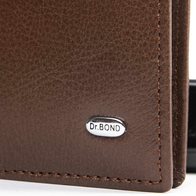 Кошелек Classic кожа DR. BOND MSM-6 coffee
