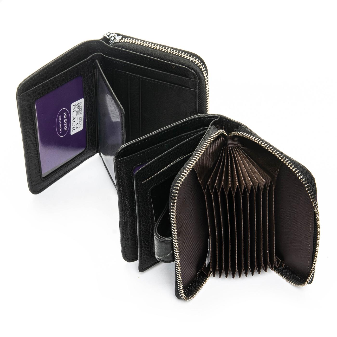 Кошелек Classic кожа DR. BOND WS-9 black
