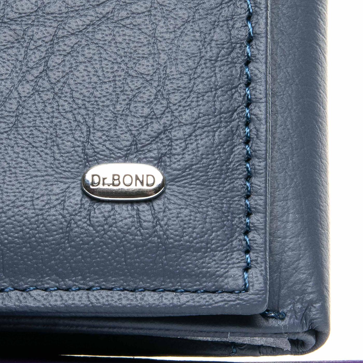 Кошелек Classic кожа DR. BOND WS-6 blue