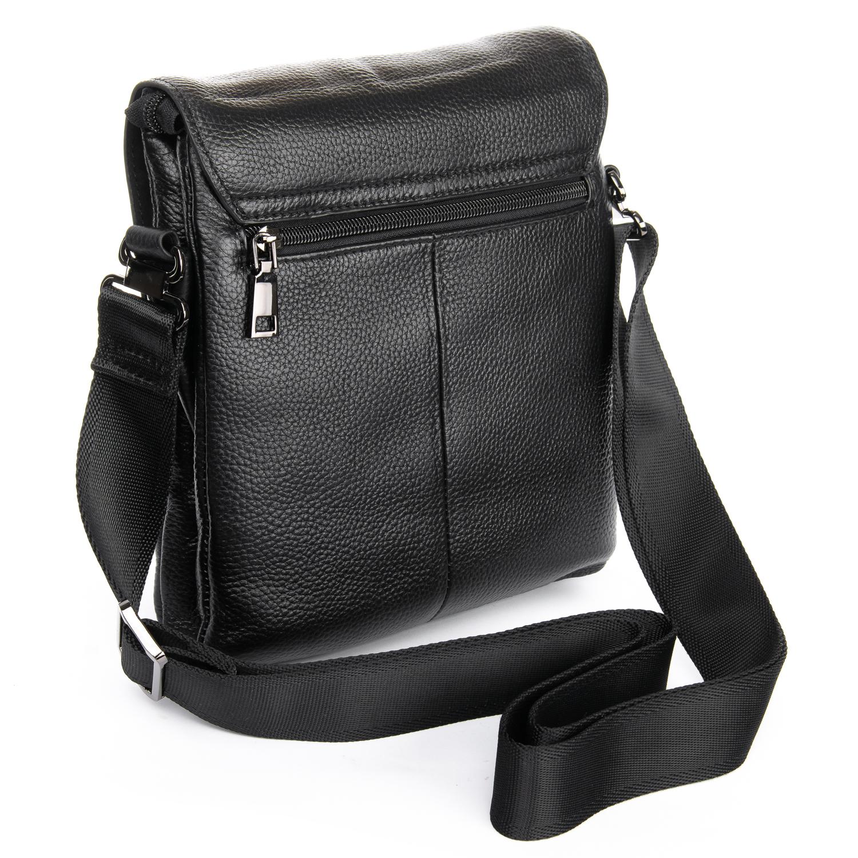 Сумка Мужская Планшет кожаный BRETTON BP 3387-4 black