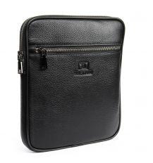 Сумка Мужская Планшет кожаный BRETTON BP 72970-2 black Распродажа