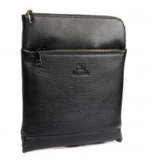 Сумка Мужская Планшет кожаный BRETTON BP 3565-3 black Распродажа