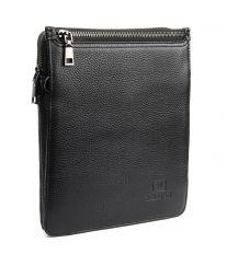 Сумка Мужская Планшет кожаный BRETTON BP 3596-4 black Распродажа