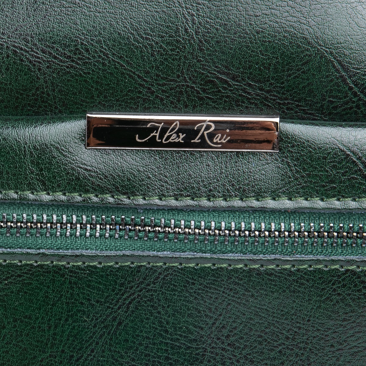 Сумка Женская Классическая кожа ALEX RAI 08-1 8222-64 green