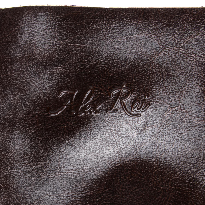 Сумка Женская Классическая кожа ALEX RAI 08-1 8603 brown