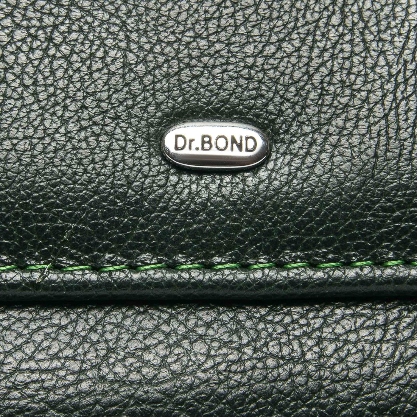 Кошелек Classic кожа DR. BOND WMB-4M green