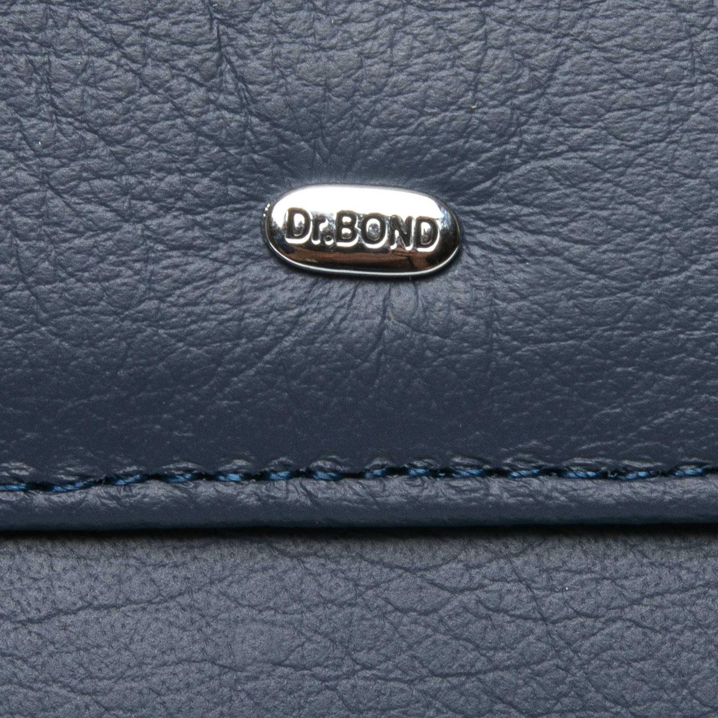Кошелек Classic кожа DR. BOND WMB-4M blue