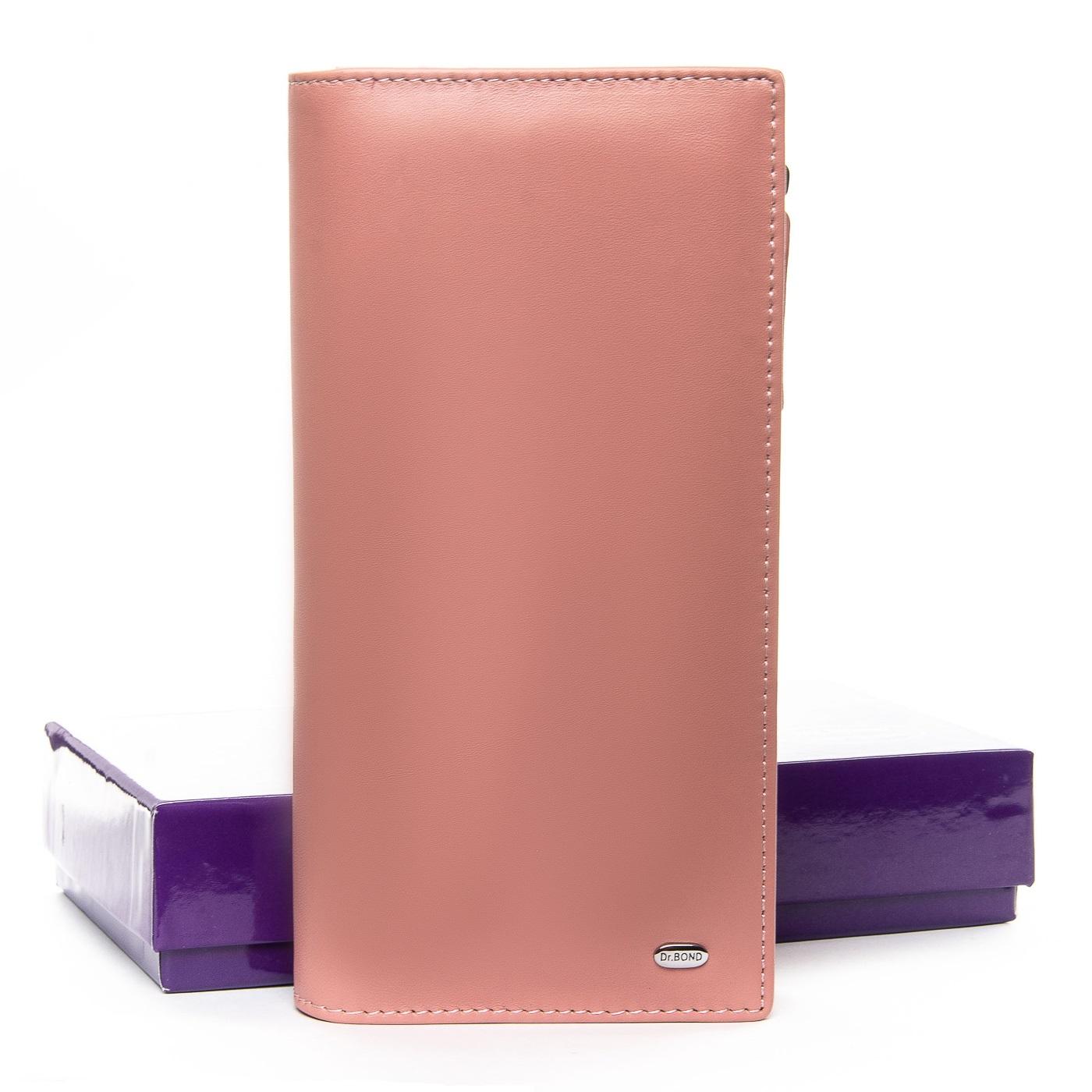 Кошелек Classic кожа DR. BOND WMB-3M pink