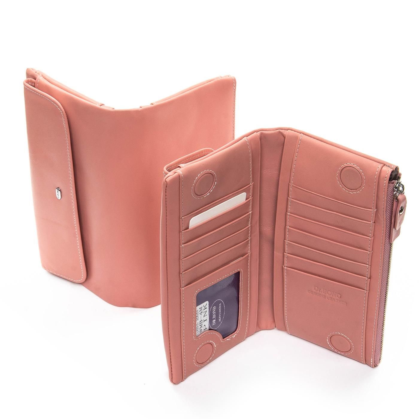 Кошелек Classic кожа DR. BOND WMB-4M pink