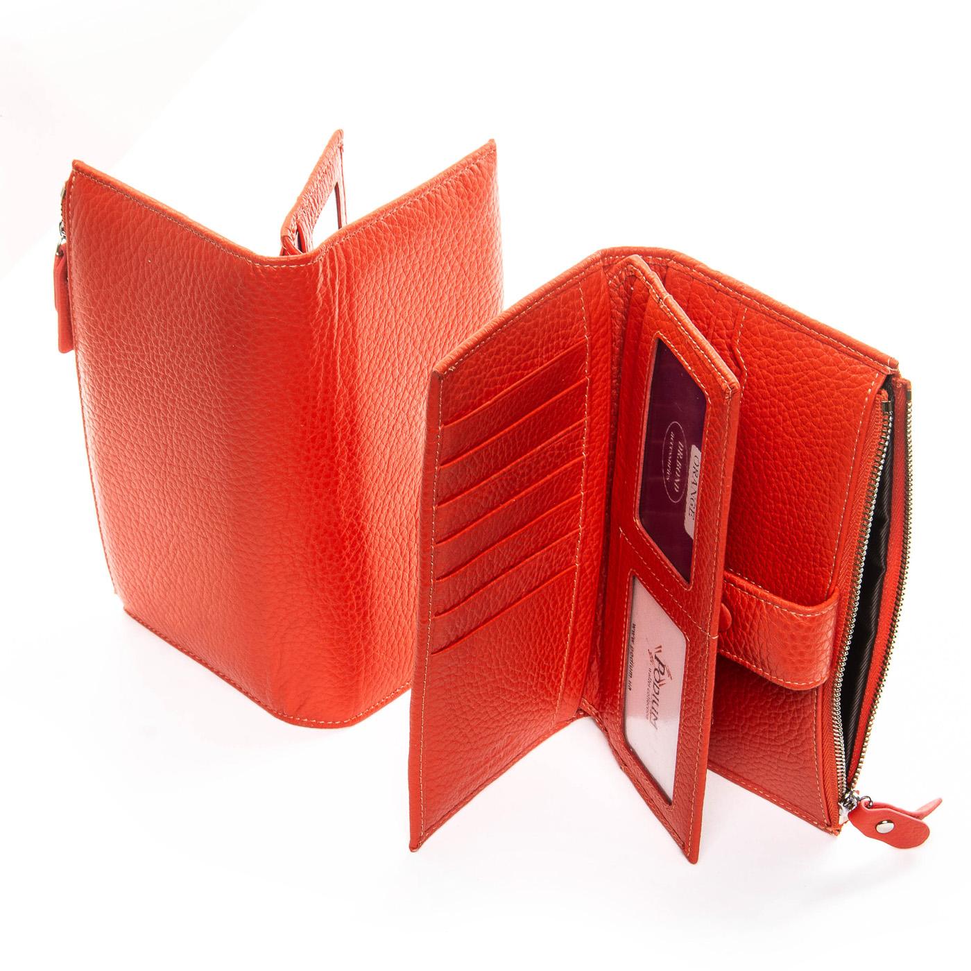Кошелек Classic кожа DR. BOND WMB-1 orange