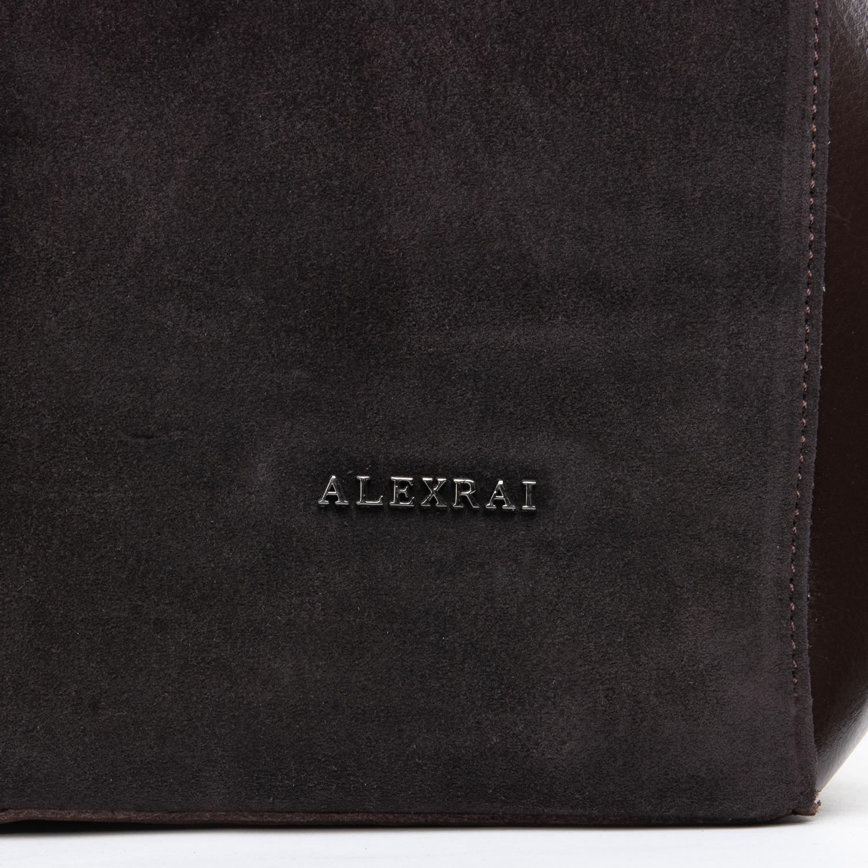 Сумка Женская Классическая замш ALEX RAI 09-1 8630-220 brown