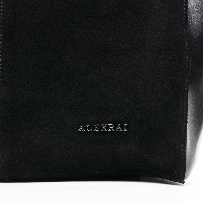 Сумка Женская Классическая замш ALEX RAI 09-1 8630-220 black