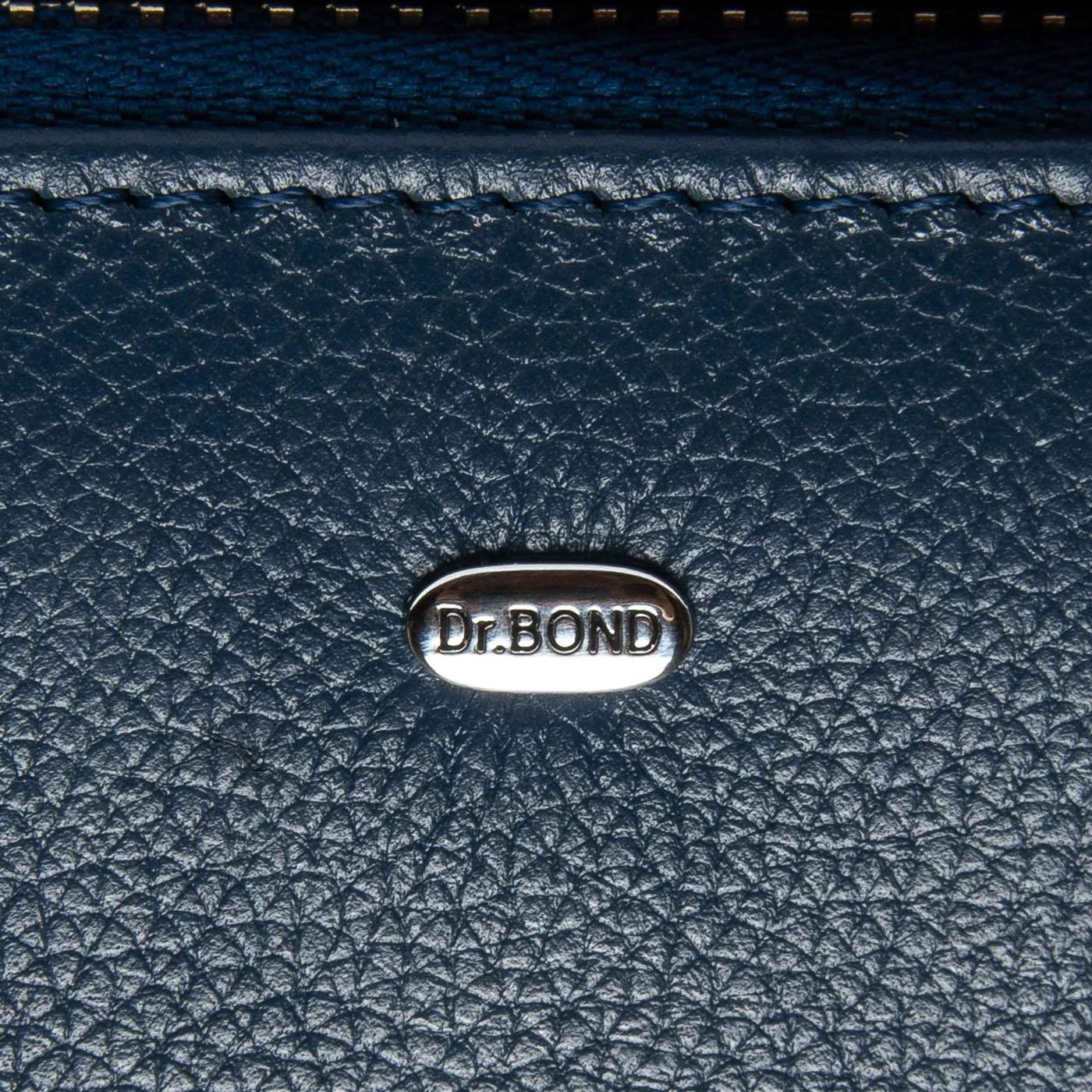 Кошелек Classic кожа DR. BOND WS-8 blue