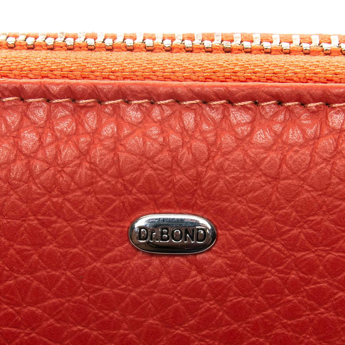 Кошелек Classic кожа DR. BOND WS-8 orange