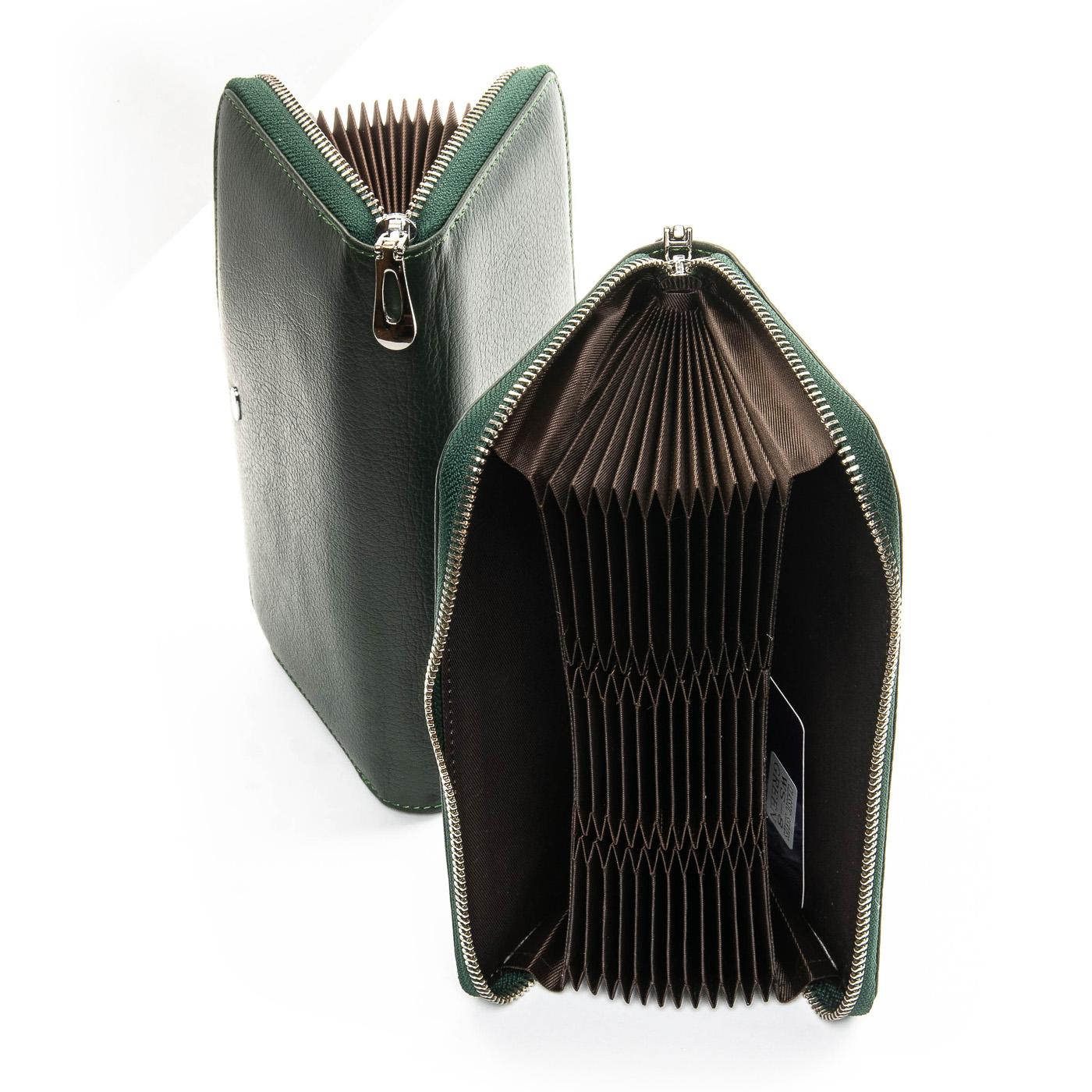 Кошелек Classic кожа DR. BOND WS-8 green