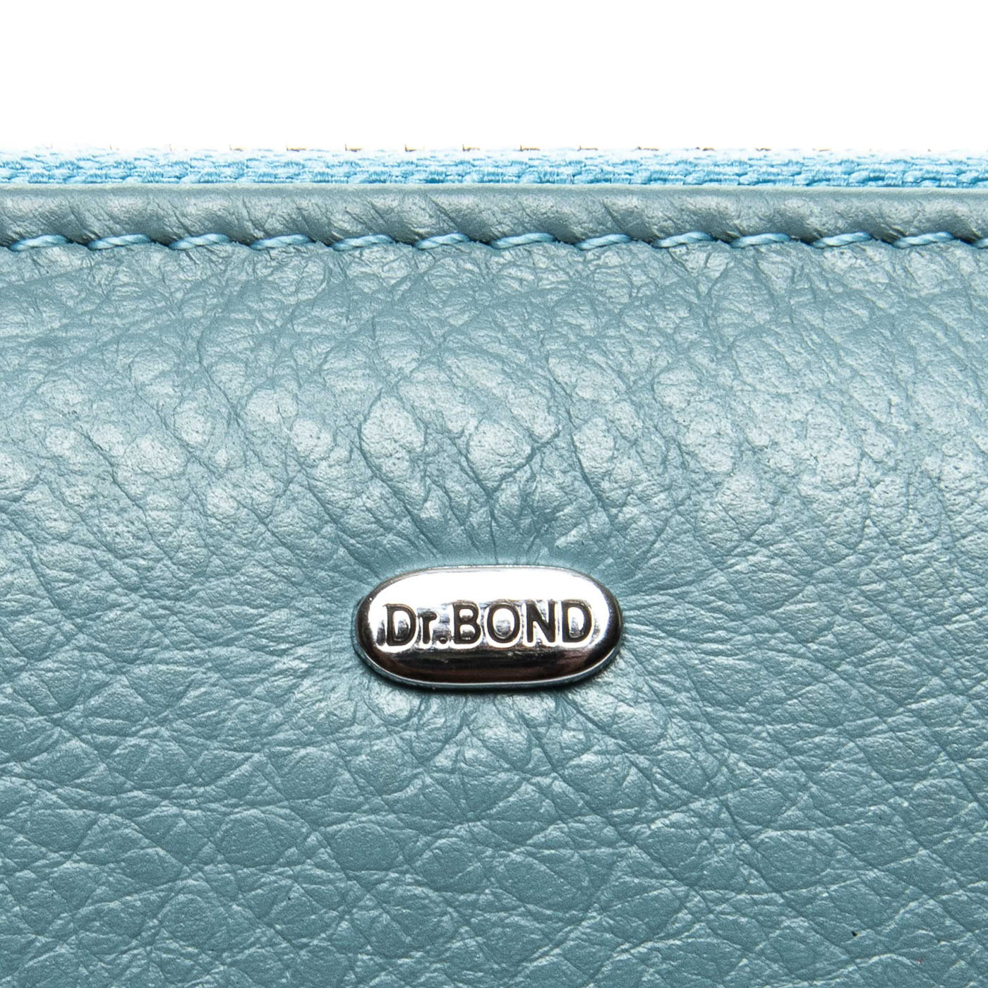 Кошелек Classic кожа DR. BOND WS-8 light-blue