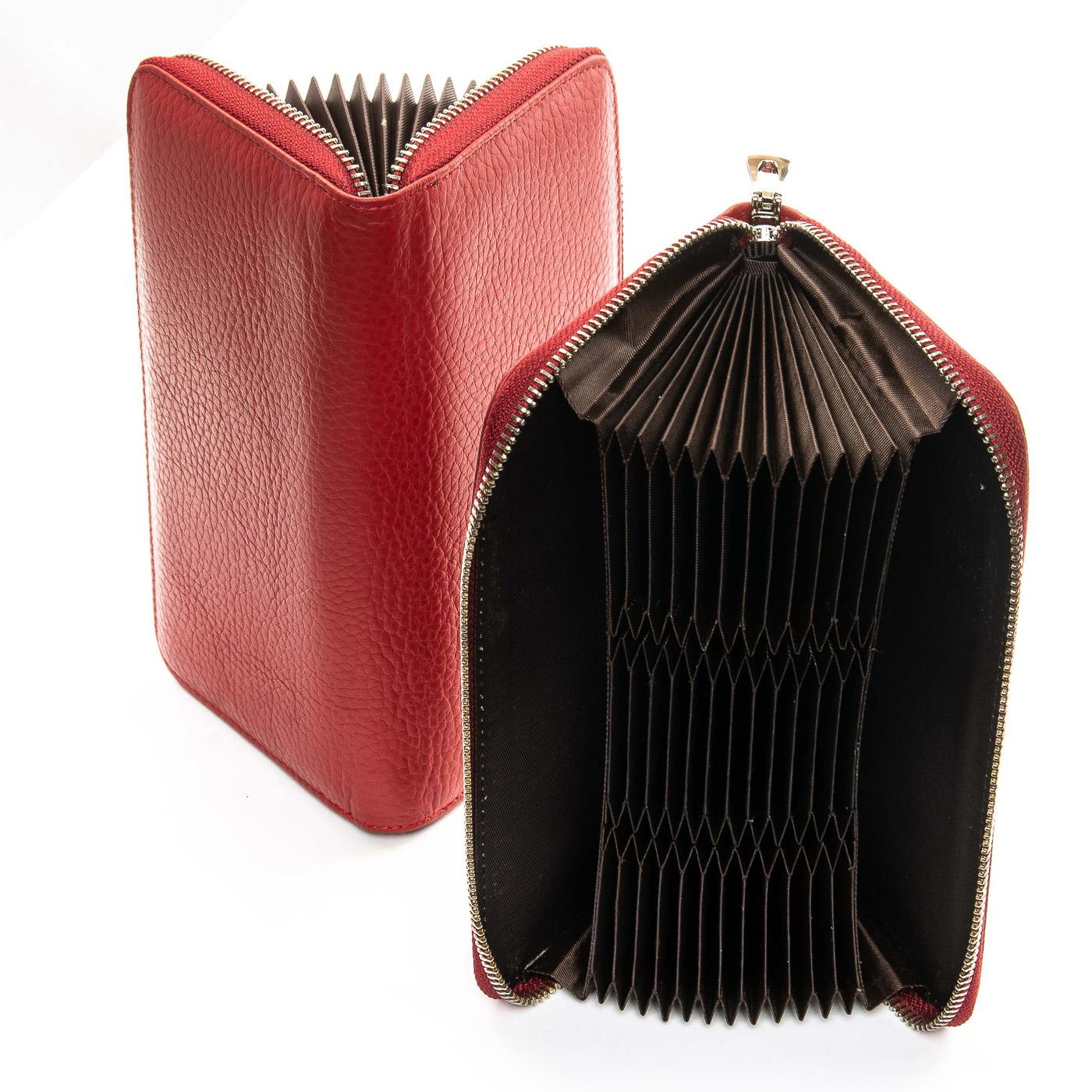 Кошелек Classic кожа DR. BOND WS-8 red