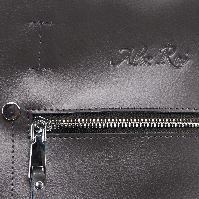 Сумка Женская Классическая кожа ALEX RAI 09-3 8773 grey
