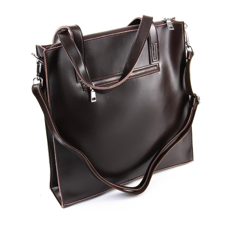 Сумка Женская Классическая кожа ALEX RAI 09-3 9926 brown