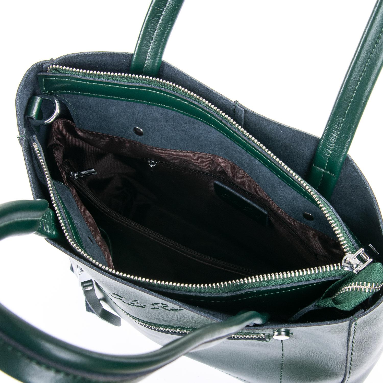 Сумка Женская Классическая кожа ALEX RAI 09-3 8773 green