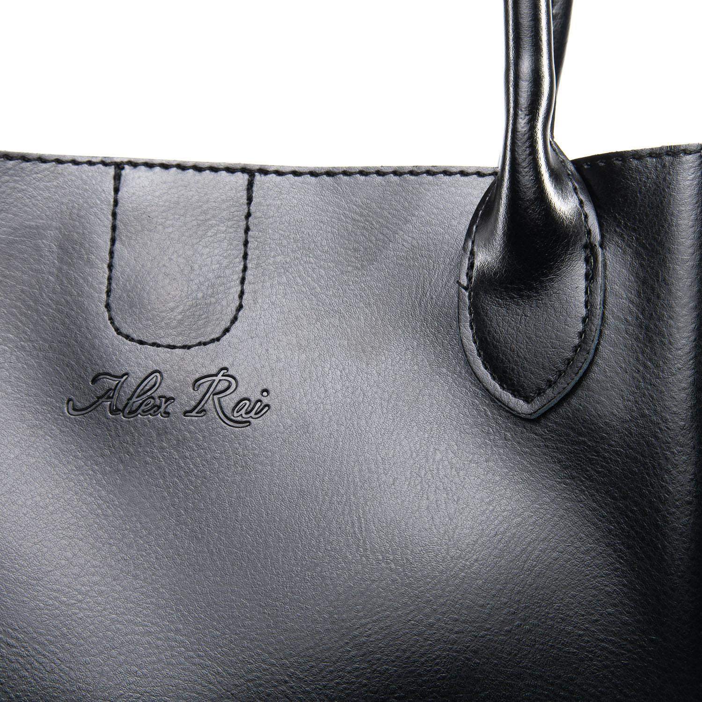 Сумка Женская Классическая кожа ALEX RAI 09-3 8784 black