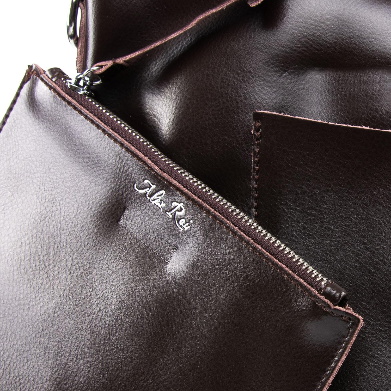Сумка Женская Классическая кожа ALEX RAI 09-3 9322 brown