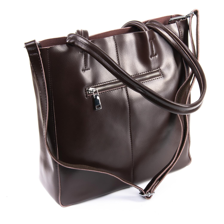 Сумка Женская Классическая кожа ALEX RAI 09-3 8773 brown