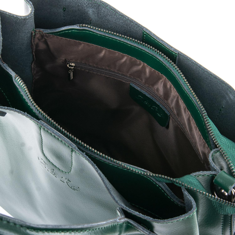 Сумка Женская Классическая кожа ALEX RAI 09-3 8784 green