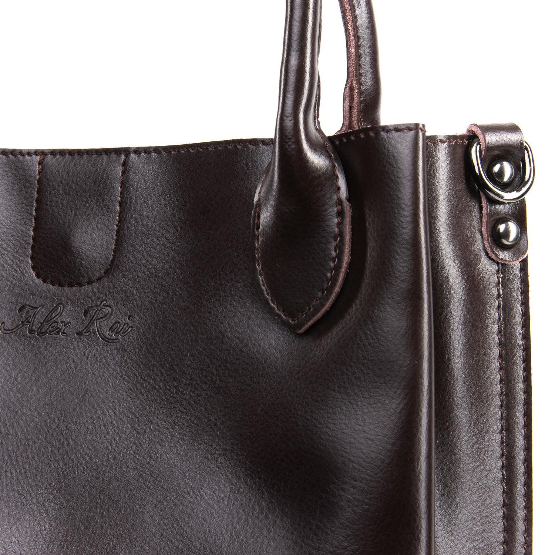 Сумка Женская Классическая кожа ALEX RAI 09-3 8784 brown