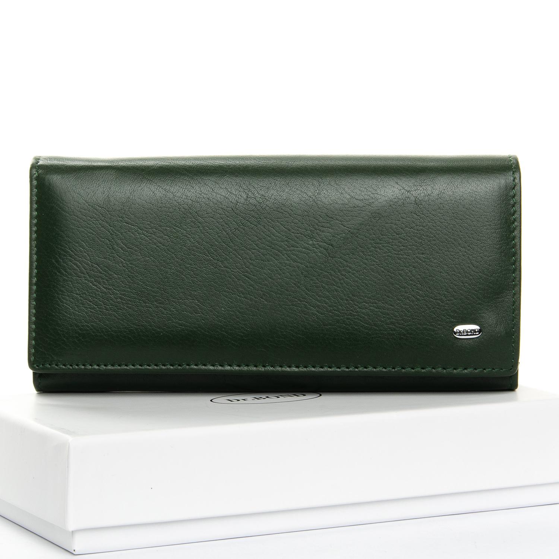 Кошелек Classic кожа DR. BOND W1-V dark-green