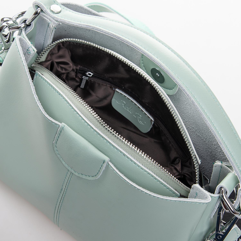 Сумка Женская Классическая кожа ALEX RAI 2-02 1383 green