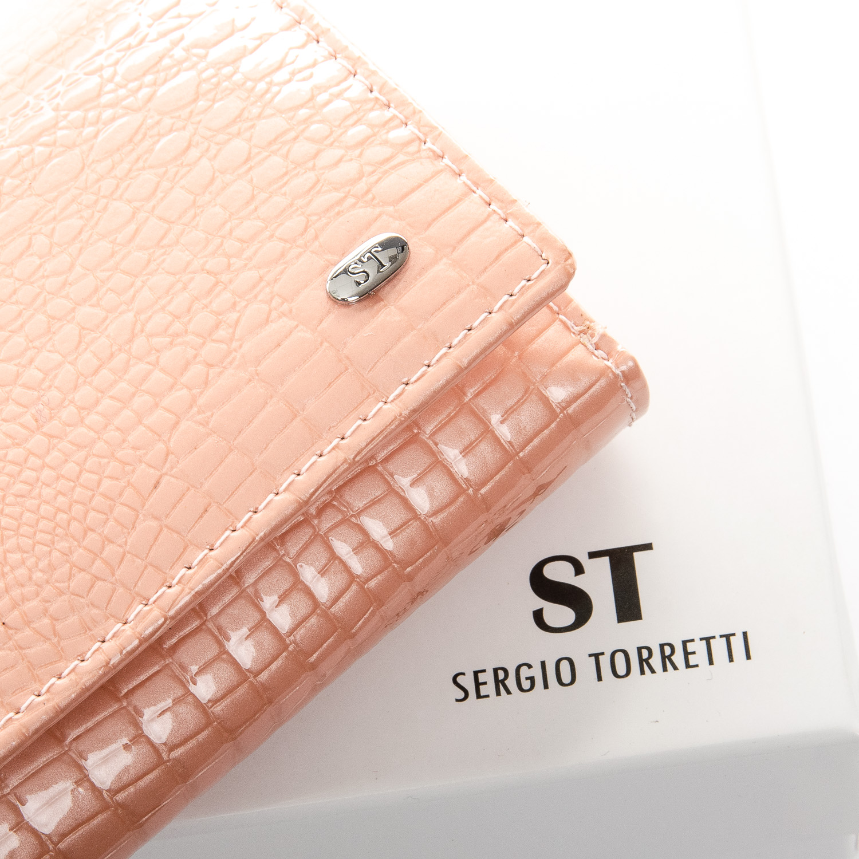 Кошелек LR кожа-лак SERGIO TORRETTI WS-10 pink