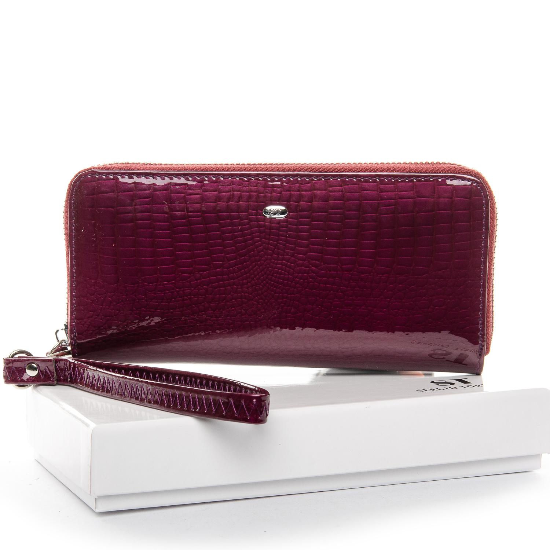 Кошелек LR кожа-лак SERGIO TORRETTI W38 purple-red