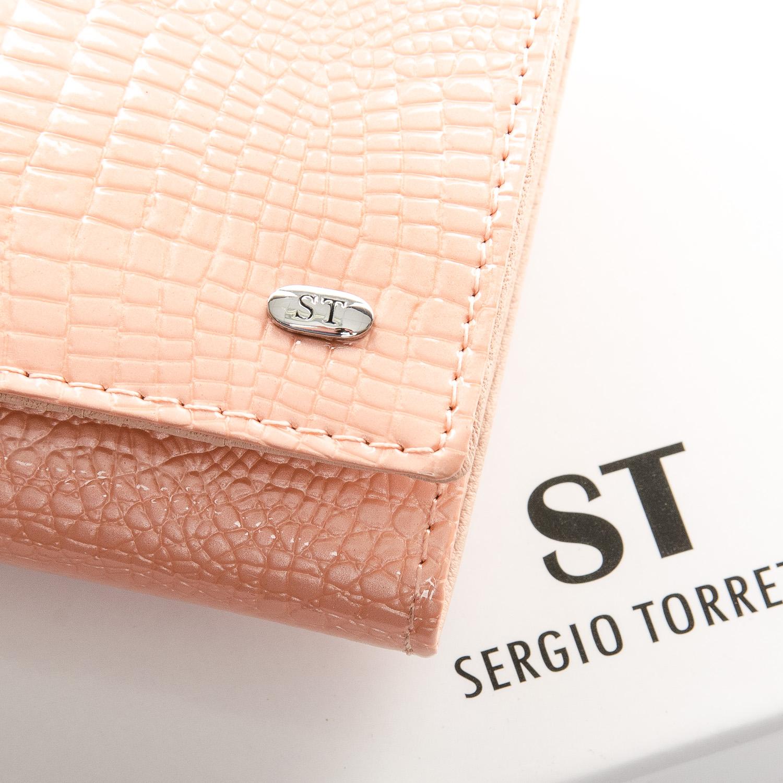 Кошелек LR кожа-лак SERGIO TORRETTI W501 pink