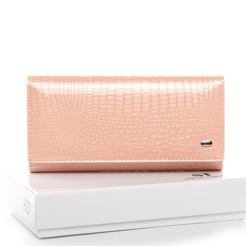 Кошелек LR кожа-лак SERGIO TORRETTI W1-V pink