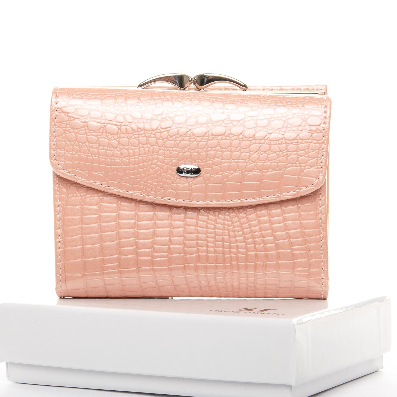 Кошелек LR кожа-лак SERGIO TORRETTI WS-11 pink
