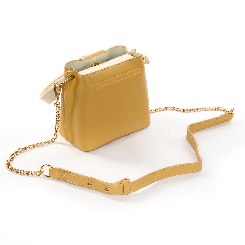 Сумка Женская Клатч иск-кожа FASHION 1-05 17039 yellow