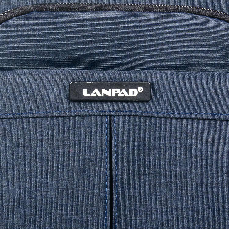 Сумка Мужская Планшет нейлон Lanpad 53201 blue