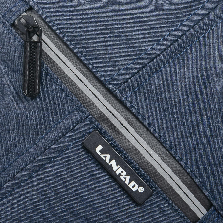 Сумка Мужская Планшет нейлон Lanpad 6290 blue