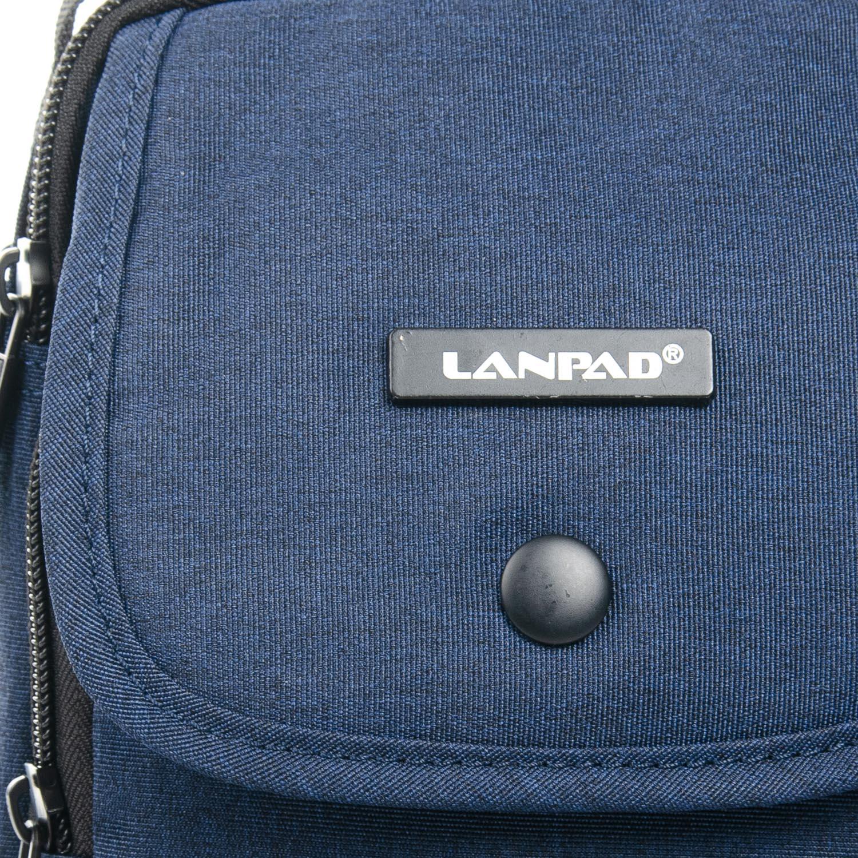 Сумка Мужская Планшет нейлон Lanpad 8347 blue